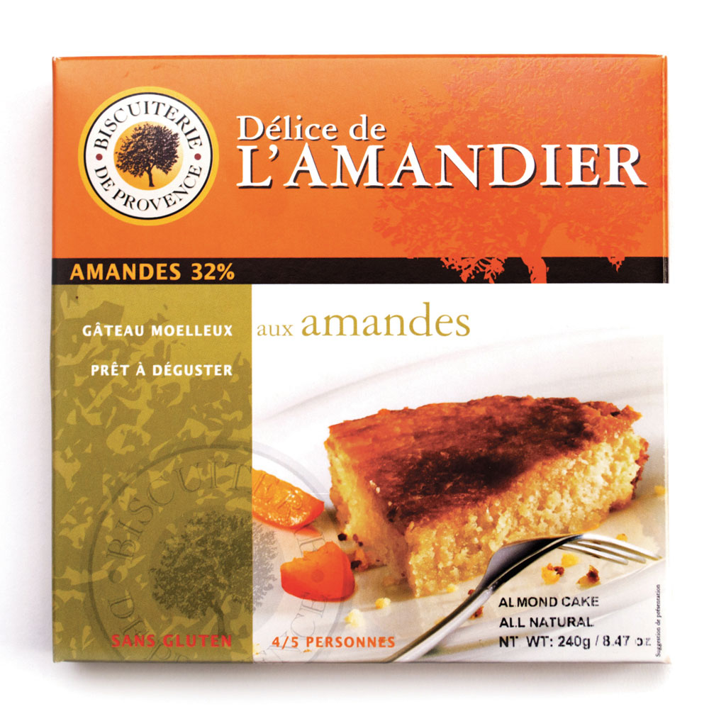Almond Cake Without Flour - Gluten Free 240g/8.47oz - 10/cs - BP050