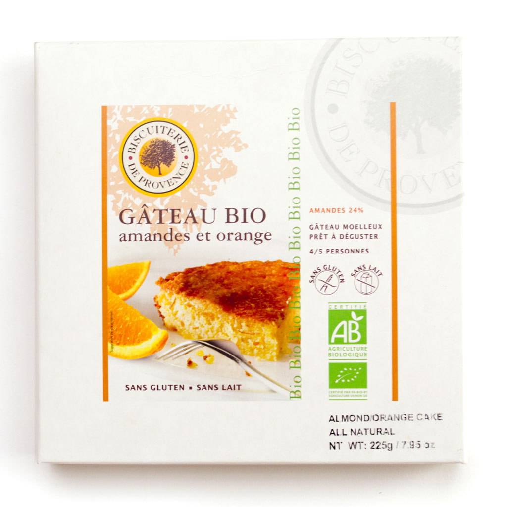 Organic Almond Orange Cake 225g/7.9oz - 10/cs - BP055
