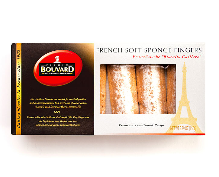 French Soft Sponge Lady fingers  (18pcs) 150g/5.3oz - BU039
