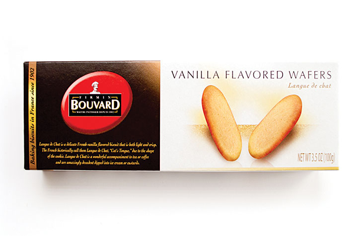 Vanilla Flavored Wafers 100g/ 3.5oz Box - BU919