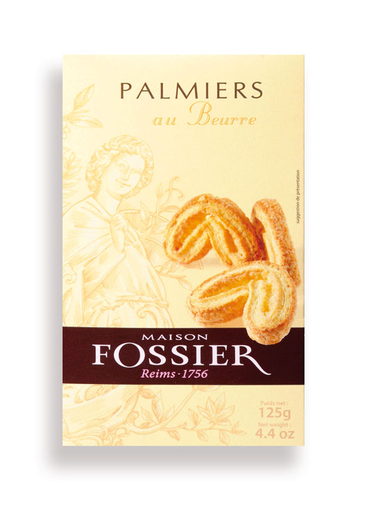 Palmier Mini Elephant Ears in a Box 125g/4.4oz - 12/cs - FO706